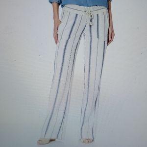 Roxy Women's Oceanside Yarn Dye Beach Pants